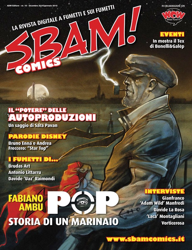 SBAM! COMICS n.18 - intervista