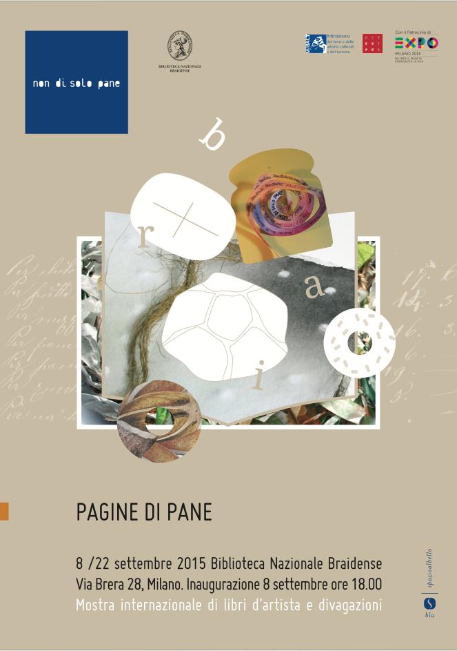 #settembre > inaugurazione > PAGINE DI PANE {Mostra internazionale di libri d'artista}
