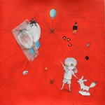 Carrè d'Artistes,quadri su carta